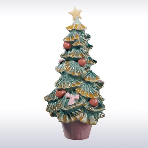 LLADRO リヤドロ クリスマスツリー 6261 陶器人形 置物