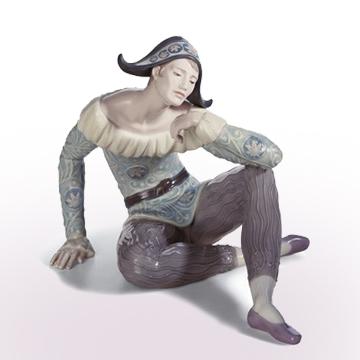 リヤドロ LLADRO NOSTALGIA(ノスタルジア) 8249 陶器人形 置物 ピエロ