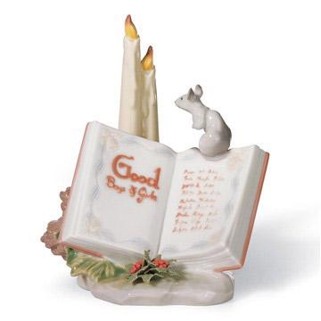 交換無料! リヤドロ LLADRO LLADRO よい子のリスト 6896 陶器人形 置物 陶器人形 置物 クリスマスツリー, ノツケグン:2b149c8c --- canoncity.azurewebsites.net
