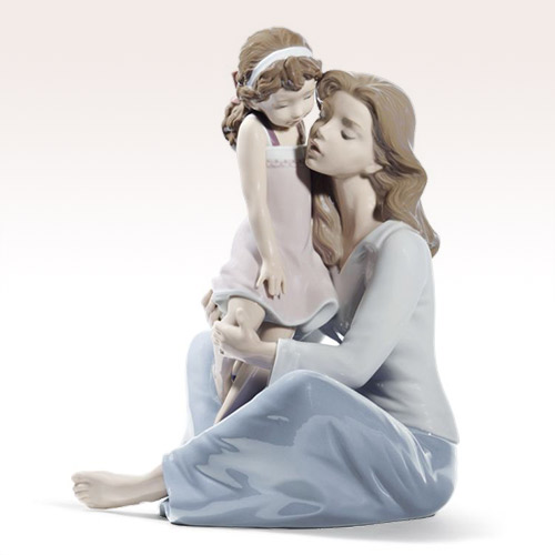 LLADRO リヤドロ ママとおしゃべり 8623 陶器人形 置物 母と子
