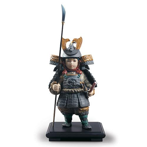 リヤドロ LLADRO 若武者 一番槍 12553 陶器人形 置物 五月人形 端午の節句 初節句祝い