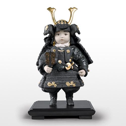 リヤドロ LLADRO 若武者(Gold) 12557 陶器人形 置物 五月人形 端午の節句 初節句祝い