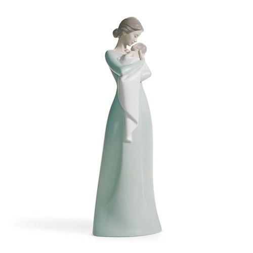 LLADRO リヤドロ 母の抱擁 18218 陶器人形 置物 赤ちゃん 出産祝い