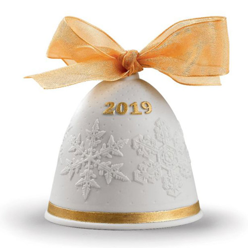 LLADRO リヤドロ 2019年 イヤーベル(Re-Deco) 18447 陶器人形 置物 クリスマス