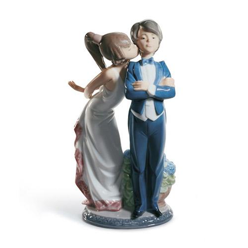 LLADRO リヤドロ すてきよ! 5555 陶器人形 置物 カップル ウェディング ブライダル 結婚祝い