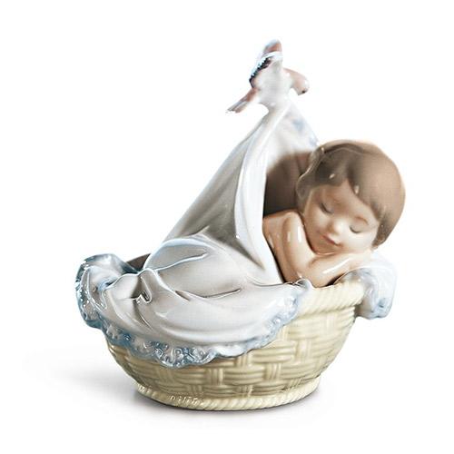 リヤドロ LLADRO 僕の夢 6656 陶器人形 置物 男の子 出産祝い 内祝い