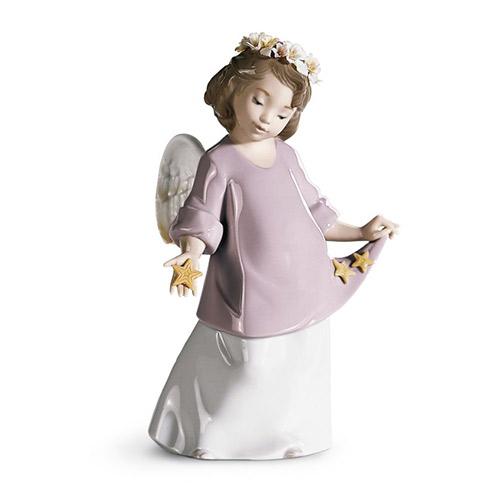 リヤドロ LLADRO 星の天使 6924 陶器人形 置物