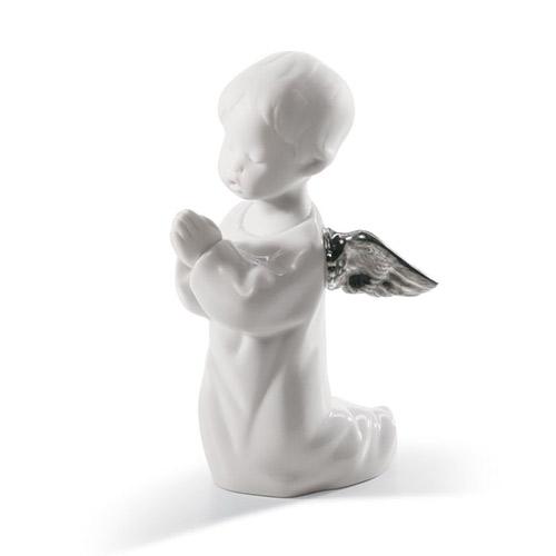 LLADRO リヤドロ 可愛いお祈り(Re-Deco) 7050 陶器人形 置物 天使 リデコ