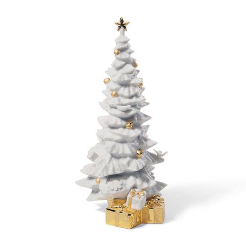 リヤドロ LLADRO トゥインクル・ツリー(Re-Deco) 7089 陶器人形 置物 クリスマスツリー