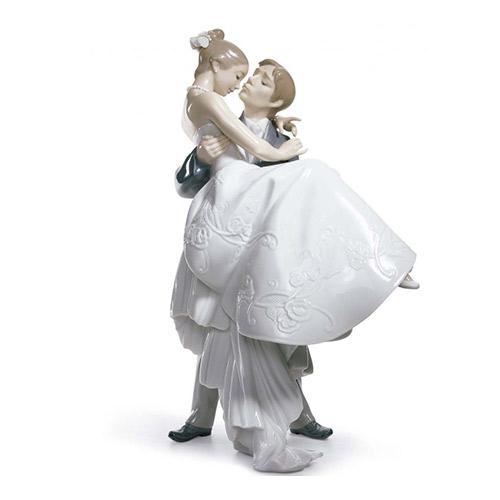 リヤドロ LLADRO 永遠の愛 8029 陶器人形 置物 カップル ウェディング ブライダル 結婚祝い