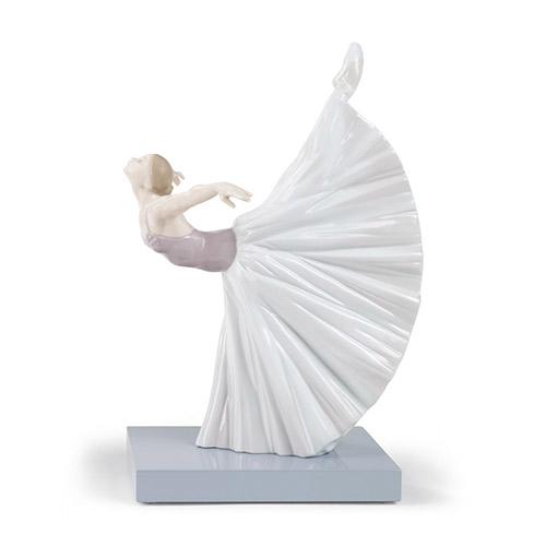 リヤドロ LLADRO ジゼルのロマンス 8475 陶器人形 置物 乙女 女性 バレリーナ バレエ