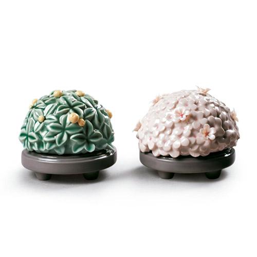 リヤドロ LLADRO 桜橘飾り 9232 陶器人形 置物 雛飾り 雛道具 ひな祭り 桃の節句 初節句祝い