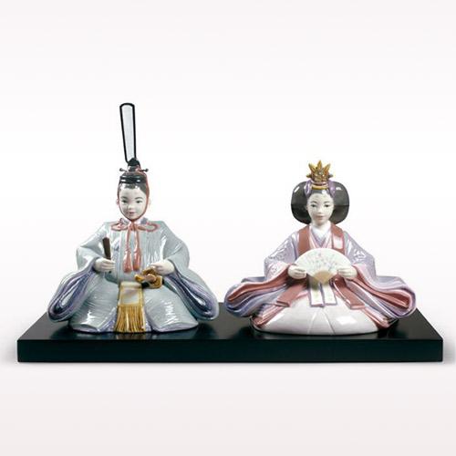 リヤドロ LLADRO 春雛 9246 陶器人形 置物 雛人形 お雛様 ひな祭り 桃の節句 初節句祝い