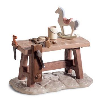 リヤドロ LLADRO サンタの工房 6892 陶器人形 置物 クリスマス