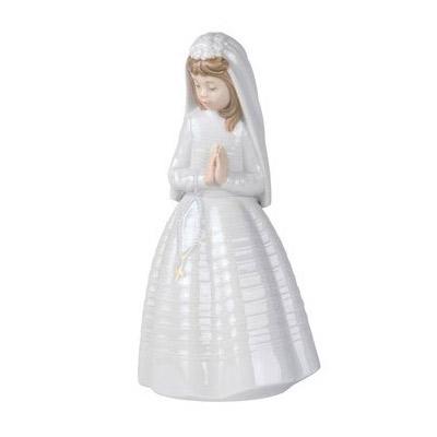 NAO ナオ 少女のお祈り 0236 陶器人形 置物 リヤドロ姉妹ブランド 少女