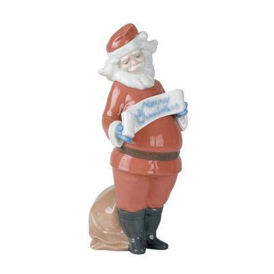 NAO ナオ サンタクロース 1399 陶器人形 置物 リヤドロ姉妹ブランド クリスマス