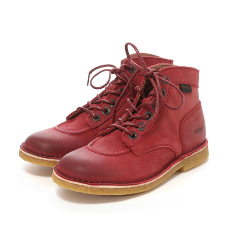 Kickers キッカーズ KICK LEGEND 18 BURGUNDY(Nubuck) キッズ ブーツ