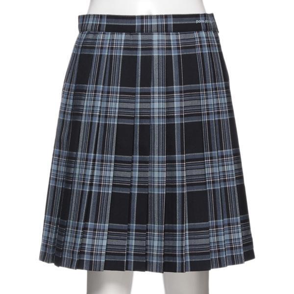 ポンポネットジュニア(pom ponette junior)プリーツチェック柄スカート