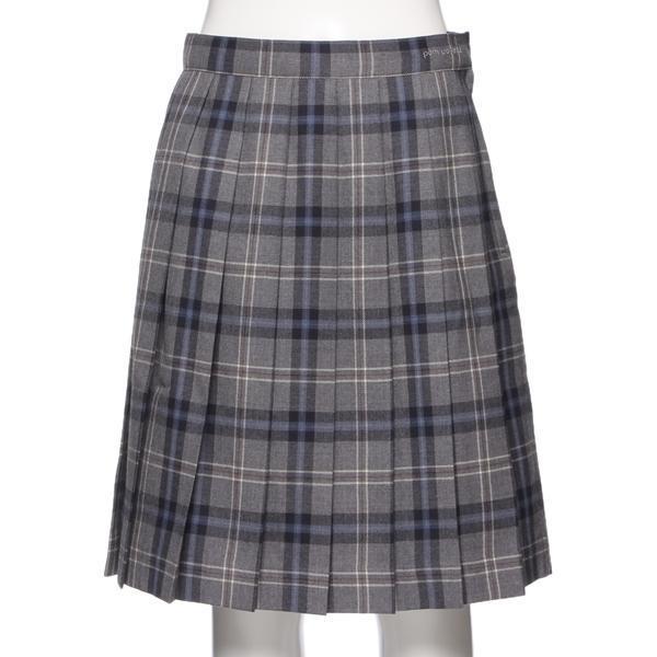 ポンポネットジュニア(pom ponette junior)チェック柄プリーツスカート