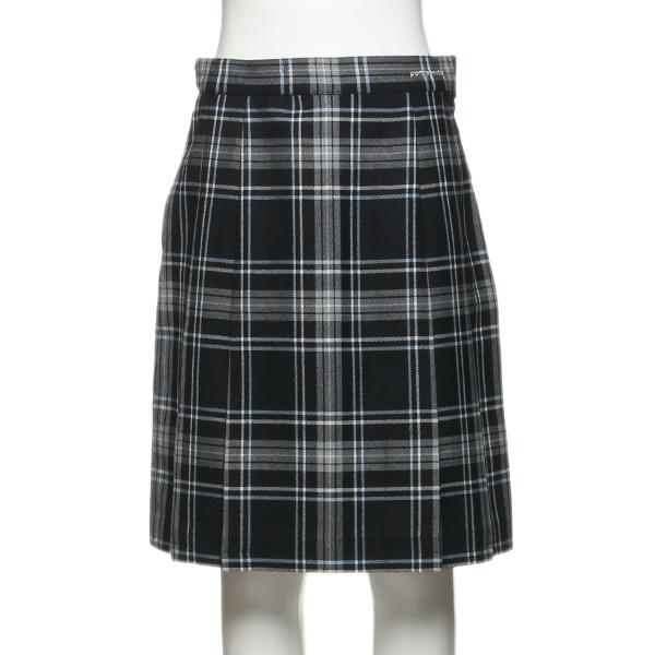 ポンポネットジュニア(pom ponette junior)チェックボックスプリーツスカート