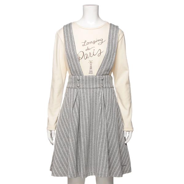 ポンポネットジュニア(pom ponette junior)カットジャカードスカート