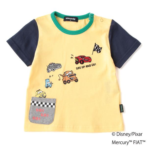 クレードスコープ(kladskap)【DISNEY/PIXAR】 カーズデザイン フラッグリンガーTシャツ