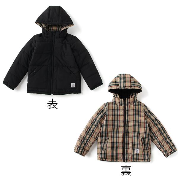 ビールーム(b-ROOM)リバーシブルパフジャケット