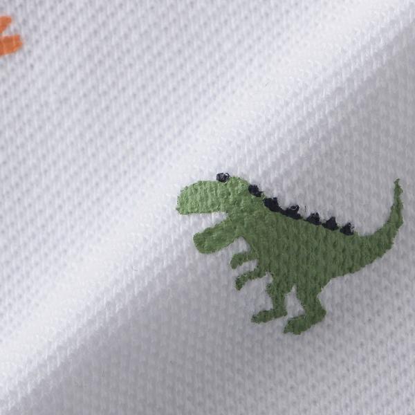 クレードスコープ kladskap 恐竜総柄ポロシャツQrBedCWxo