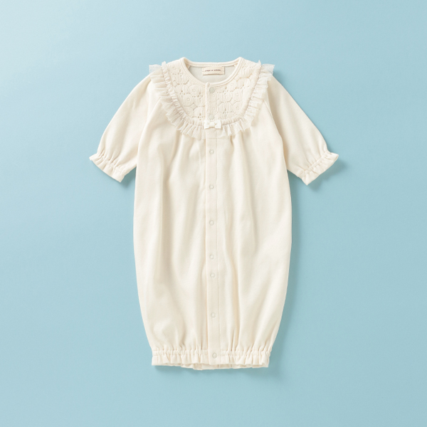 センスオブワンダー(sense of wonder)オーガニックコットン アイリッシュヨーク兼用ドレス