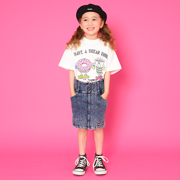 60%OFF SALE 21AWSL SS210819 O_60 outlet 卓越 ハイウエストケミカルタイトスカート ステージス X-girl 爆売り Stages エックスガール
