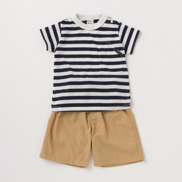 【50%OFF】【SALE】【SS210819】【O_50】【SSSL】 ピューピルハウス(Pupil House)BOYS Tシャツパンツセット