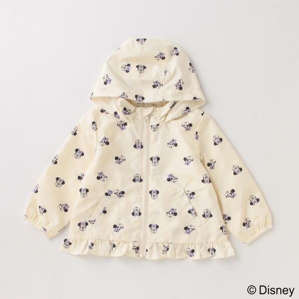 プティマイン(petit main)【Disney】ミニー/総柄ウィンブレ