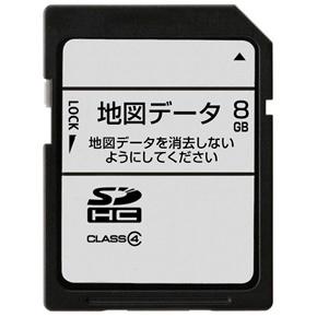 ECLIPSE イクリプス/富士通テン SDB-IFF17 AVN-F01i用地図更新版SDカード