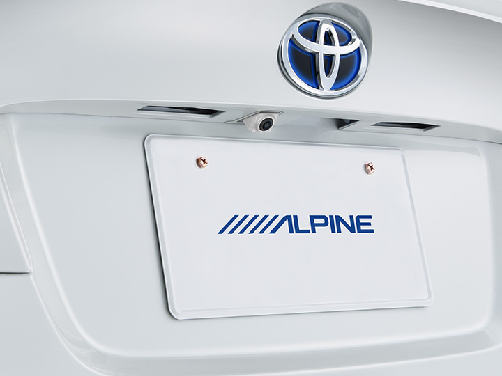 ALPINE HCE-C2000RD-CHR-W C-HR専用 マルチビュー・バックカメラパッケージ