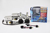 正規販売店 CATZ キャズ CLC16 海外並行輸入正規品 H19 H 6000K LEDヘッドライトコンバージョンキット L用 REFLEX