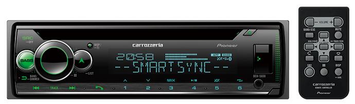 Carrozzeria カロッツェリア DEH-5600 CD/Bluetooth/USB/チューナー・DSPメインユニット