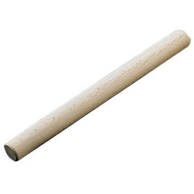 直径が太めの 樫 製のめん棒です 安全 大 (訳ありセール 格安) 木製太口 樫めん棒