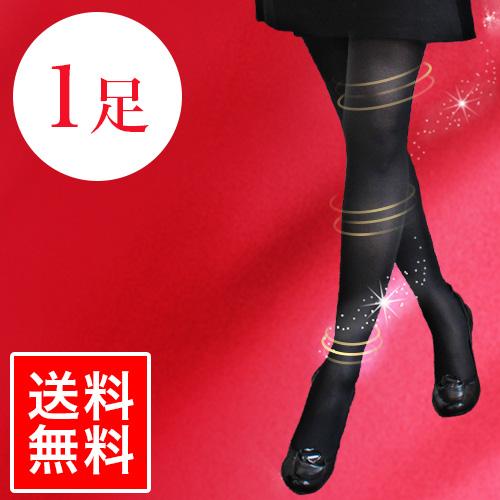 【送料無料】92%が脚痩せを実感!メディカル着圧タイツ 1枚 選べる4サイズ【ルルスラ】【LULUSULA】
