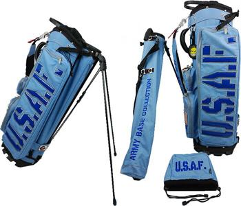 アーミーベースコレクション ARMY BASE スタンドバッグ ABC026SB ブルー クラブケース一体型 キャディバッグ