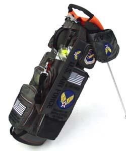アーミーベースコレクション  スタンドバッグ グレー ARMY BASE STAND BAG Airforce Gray キャディバッグ