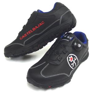 JC de CASTELBAJAC カステルバジャック スポーツ 合皮スパイクスニーカー CBK006 ブラック