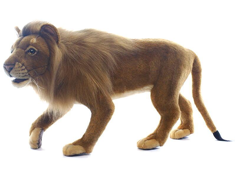 【HANSA】リアルぬいぐるみライオン 90cm