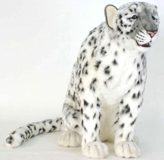 【HANSA】リアルぬいぐるみ雪ヒョウ 180cm