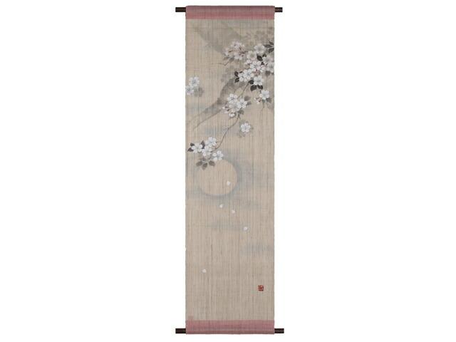 【京都洛柿庵】タペストリー 宵の月