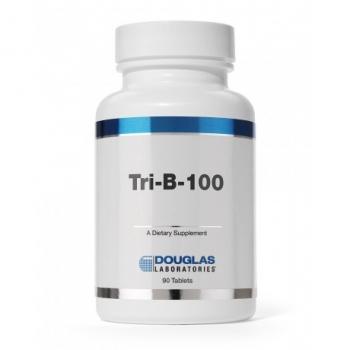 ビタミンB 葉酸400μg ビオチン 春の新作シューズ満載 新色追加 医師がNO1に指示 疲れでお悩みの方に サプリメントトリB ビタミンB郡 ビタミンB群 90粒 ダグラスラボラトリーズトリ-B-100