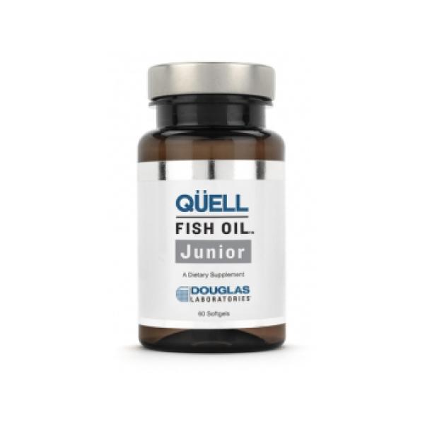 オメガ3が高含有 DHA+EPAサプリメント ※アウトレット品 お子様の為の高純度DHA EPA お歳暮 ダグラスラボラトリーズ キュエル DHA+EPA ジュニア フィッシュオイル