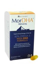妊娠を望む方 最安値挑戦 妊娠中 超安い 授乳中の方に安全なDHA ドクターズサプリ MINAMI 60粒 約60日分 プレネイタル NUTRITION モアDHA