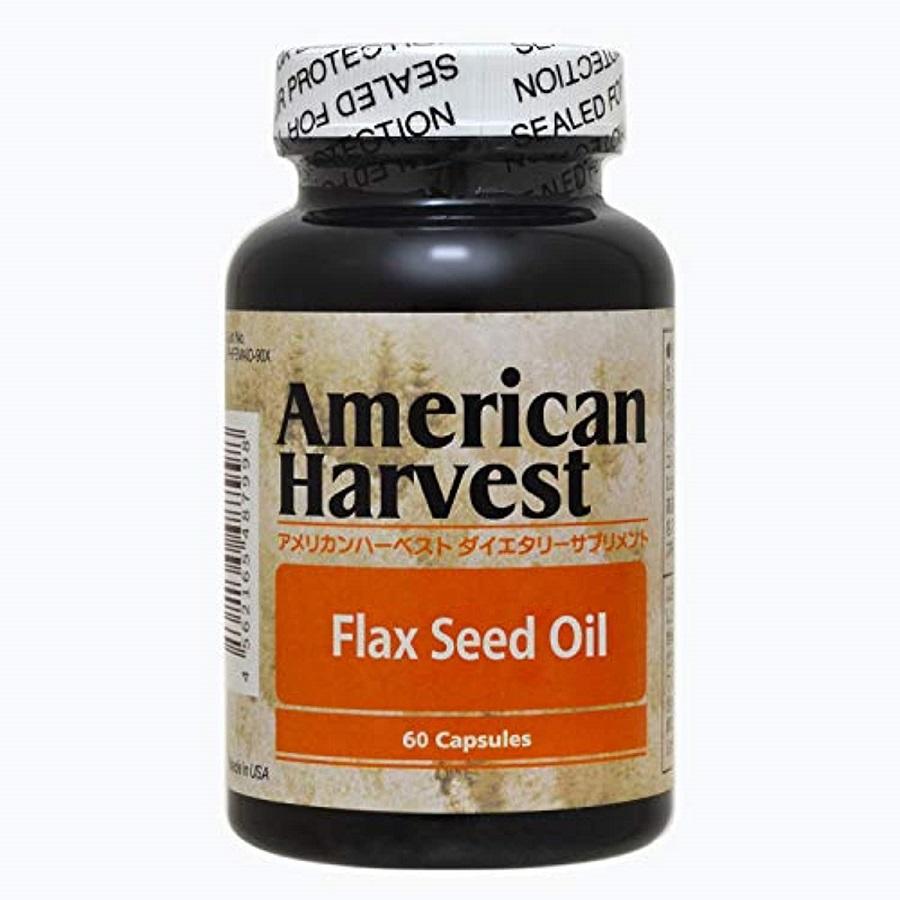 フラックスシードオイル 亜麻仁油 は 日本人に不足しがちなオメガ3脂肪酸のα-リノレン酸 ALA が 凝縮されているサプリメントです アメリカンハーベスト スーパーSALE 倉庫 ダグラスラボラトリーズ正規販売店 60粒 約60日分 10%OFF 現金特価