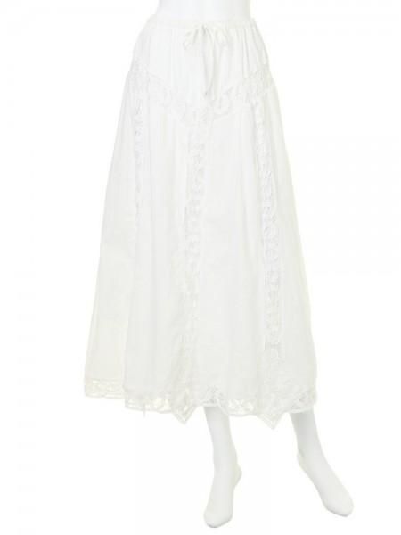 Ungrid(アングリッド)(Lady)バテンレースマキシスカート(111510845401)2015 Spring新作 スカート 送料無料 代引手数料無料