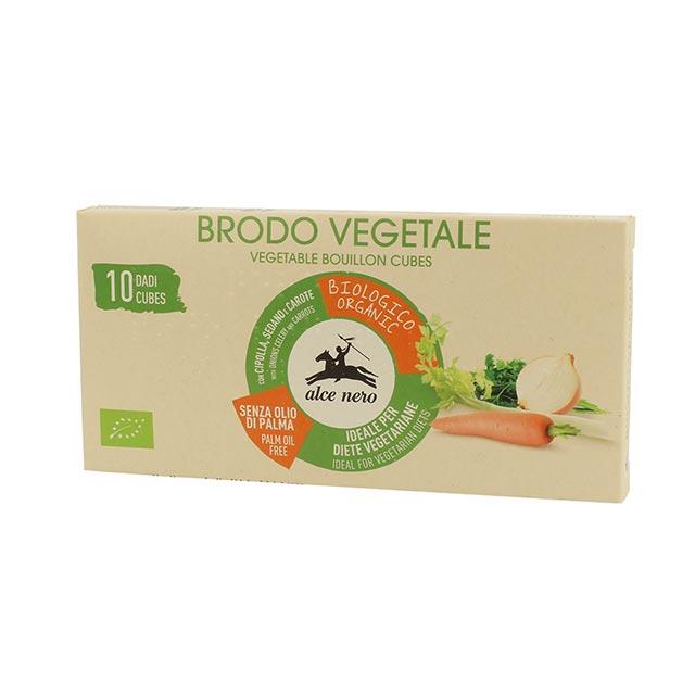 アルチェネロ 有機野菜ブイヨン キューブタイプ 100g キューブ10個入 24箱セット 宅配便A 取寄